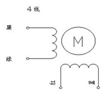 两相混合式步进电机接线图